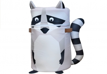 ,, Ernest Racoon XL '' toy storage bag