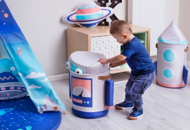 ,,Robot''  toy storage bag