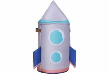 ,,Space rocket'' toy storage bag