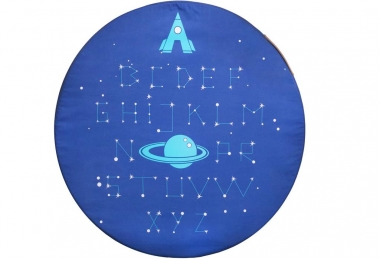 ,,Space Alphabet'' play mat