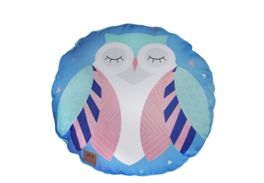 ,, Sophie Owl' round cushion